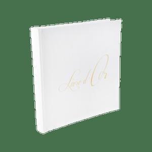Livre D'Or Blanc 24 cm