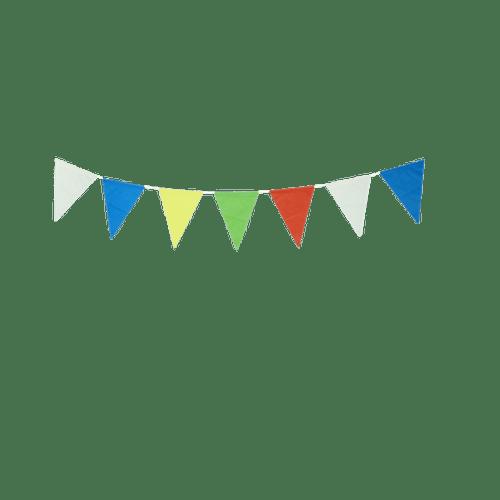 Déco Pour Mariage & Fête Guirlande Papier Multicolore (Lot De 3 Pièces)