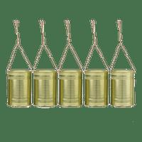 Boite De Conserve Mariage Or x5