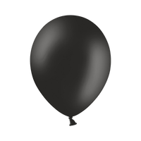 Ballon Latex Biodégradable Noir 28 cm