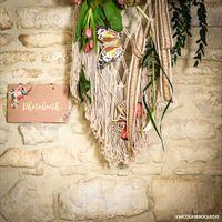 Pancarte Folk Photobooth 25 cm