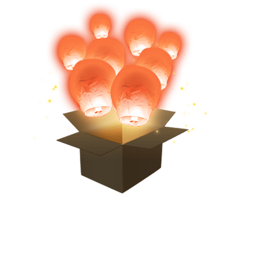 Balloon Corail x3
