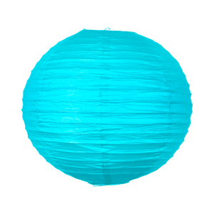 Boule papier 40 cm Turquoise