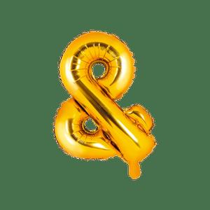 Ballon Lettre & Or 35 cm
