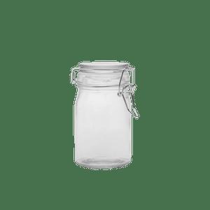 Bocal À Conserve contenance 100ml Transparent fermoir argent