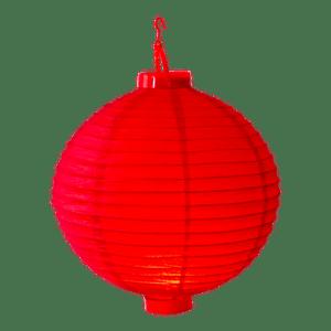 Lampion LED Rouge
