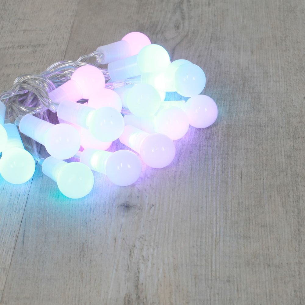 Guirlande Mini Bulbes Multicolore