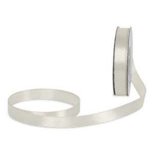 Ruban Satin Ivoire 12mm x 25m