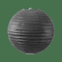 Boule papier 30 cm Noir