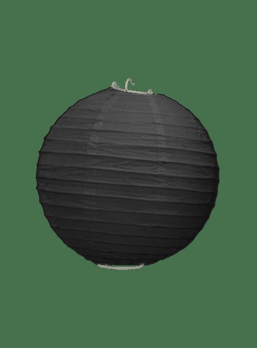 Boule Papier Noir 20 cm x3