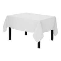 Nappe Polyester 250 x 150 cm Blanche