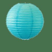 Decoration De Mariage & Fête Boule Papier 40 Cm Turquoise (Lot De 3 Pièces)
