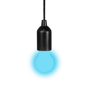 Suspension Ampoule Clic Clac Bleu