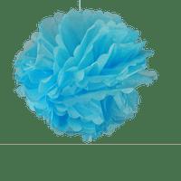 Décoration De Mariage & Fête Pompons Turquoise 50 Cm (Lot De 4 Pièces)