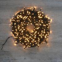 Guirlande Lumineuse 480 LEDs Blanc Chaud 36 m
