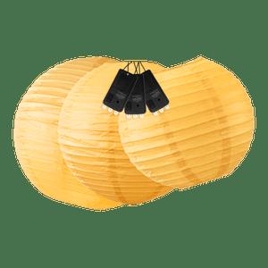 Boules + LED Oranges