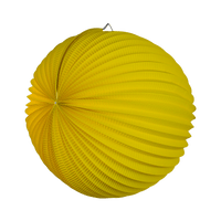 Lampion rond 36 cm Jaune