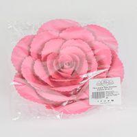 Fleur En Papier Rose Ancienne Fuchsia 20 cm