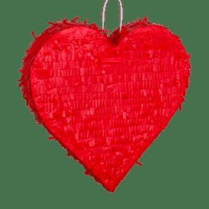 Pinata Coeur Rouge 36 cm