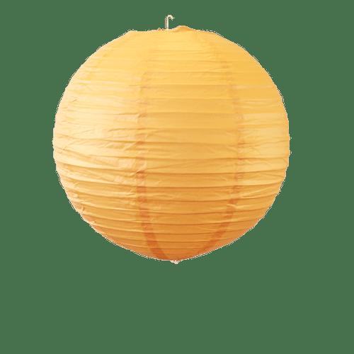 Déco Soirée Mariage & Fête, Anniversaire, Fête Boule Papier 30Cm Orange (Lot De 5 Pièces)