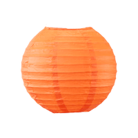 Boule Papier 20cm Corail (Nouvelle Collection)