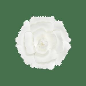 Fleur En Papier Anémone Blanc 20 cm