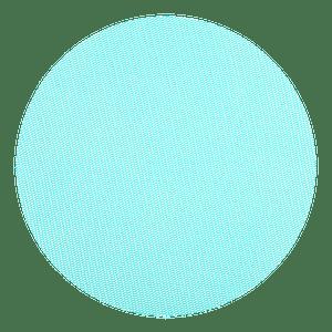Sachet Dragées Rond Tulle Aquamarine x10