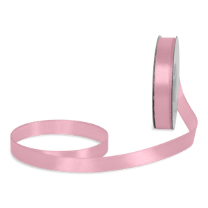 Ruban Satin Rose Pastel 12mm x 25m