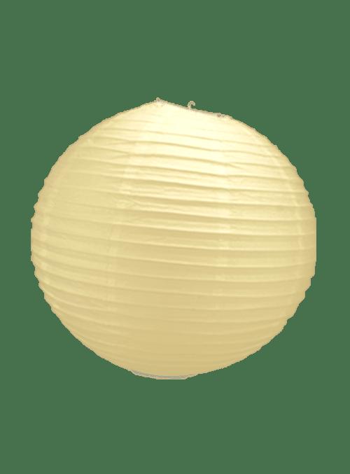 Boule Papier Ivoire 30 cm x10