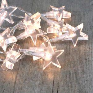 Guirlande Lumineuse Petites Etoiles Transparentes