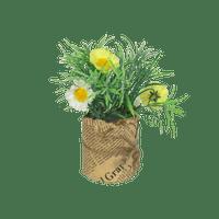 Sachet À Fleur Fausse fleur Jutte Jaune et Blanc