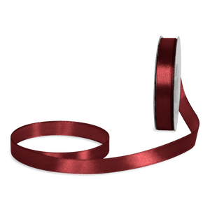 Ruban Satin Rouge Foncé 12mm x 25m