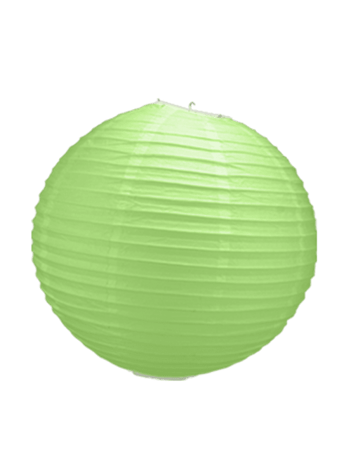 Boule Papier Vert 30 cm x3