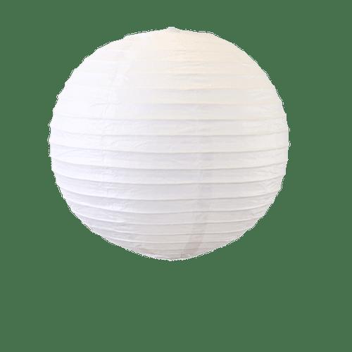 Déco Pour Mariage & Fête Boule Papier 30Cm Blanc (Lot De 5 Pièces)