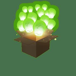 Balloon Vert x100