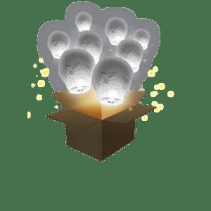 Balloon Gris x3
