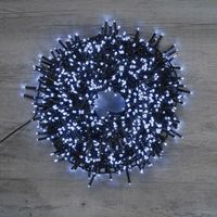 Guirlande Lumineuse Cluster 1000 LEDs Blanc Froid 20 m 8 fonctions
