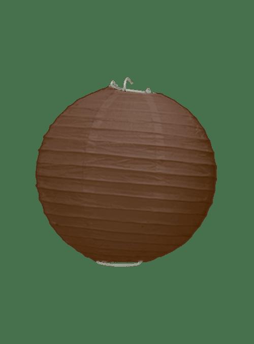 Boule Papier Chocolat 20 cm x3