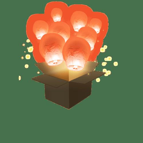Balloon Corail x5