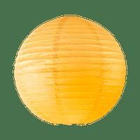 Boule papier 40cm Orange