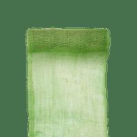 Chemin de Table Toile de Jute vert 5 M