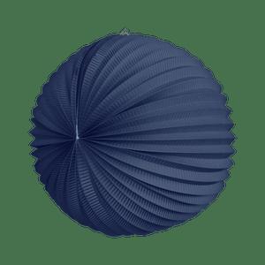 Lampion rond 36cm Bleu Roi