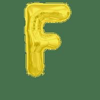 Ballon Lettre F Or 90 cm