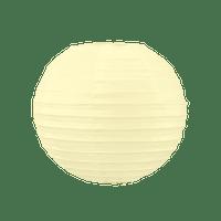 Boule Papier 20cm Ivoire (Nouvelle Collection)