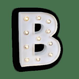 Lettre Lumineuse B