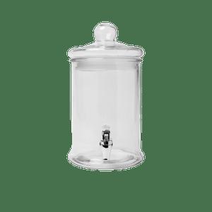 Distributeur De Boisson 5 litres verre transparent 34 cm