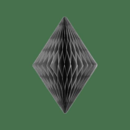 Cristal alvéolé 30 cm Gris