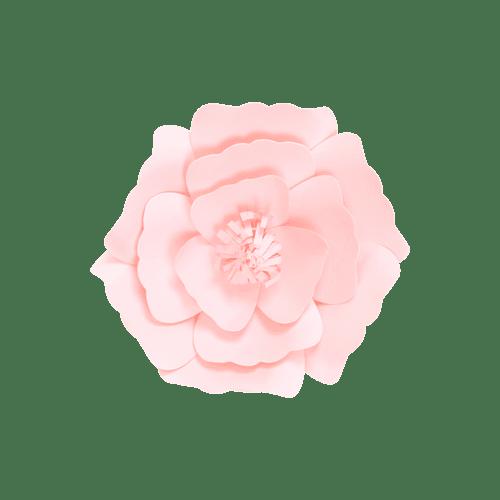 Fleur En Papier Anémone Rose Pâle 20 cm