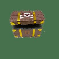 Pinata Coffre de Pirate Marron 30 cm