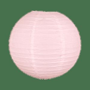 Boule papier 40cm Rose pâle